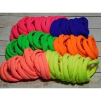 Резиночки для волос бесшовные 40 мм, 100 шт. (+-5)