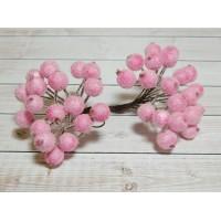 Ягоды сахарные, 40 шт. (1 связка) розовый
