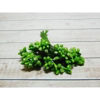 Веточки-тычинки, 144 шт (12 букетов) зеленый