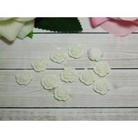 Фигурки из пластика Роза 13 мм, 20 шт.