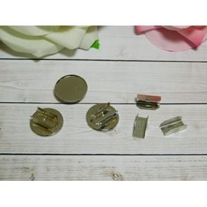 Основа для резиночек 20 мм, 50 шт. металл
