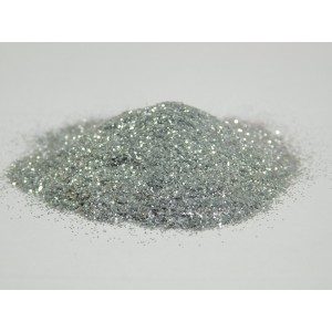 Блестки 10 гр., 10 шт. серебро