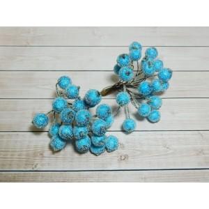 Ягоды сахарные, 40 шт. (1 связка) голубой яркий