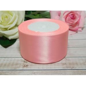 Атласная лента 50 мм, 23 м розовый