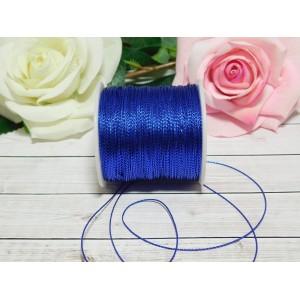 Шнур декоративный 1 мм, 100 м синий