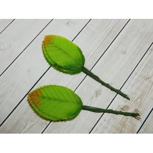 Листья на веточке, 100 шт. (10 связок)