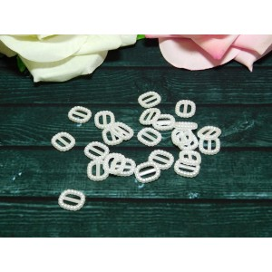 Фигурки из пластика Пряжка 10*12 мм, 100 шт.