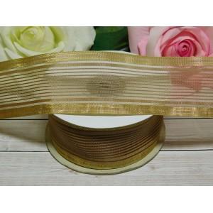 Органза с рисунком 38 мм, 23 м